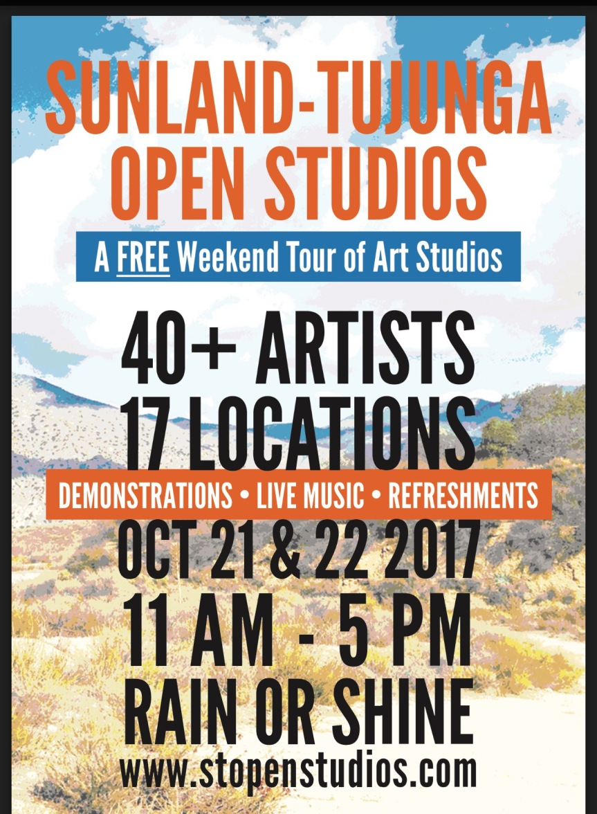 Sunland-Tujunga Open Studios Tour is almost here!